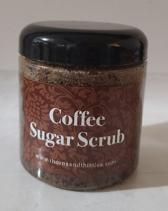 Body Sugar Scrub-Coffee