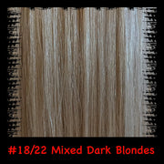 Mixes Blondes Hair Extensions