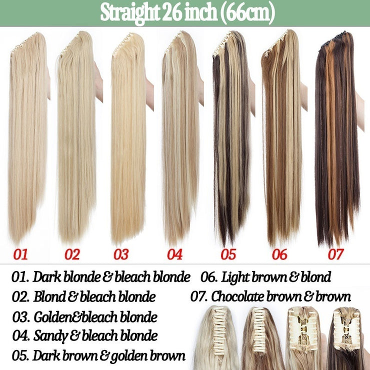 Pony Tail Extensions - Synthetic
