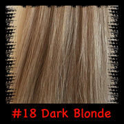 #18 Dark blonde hair extensions