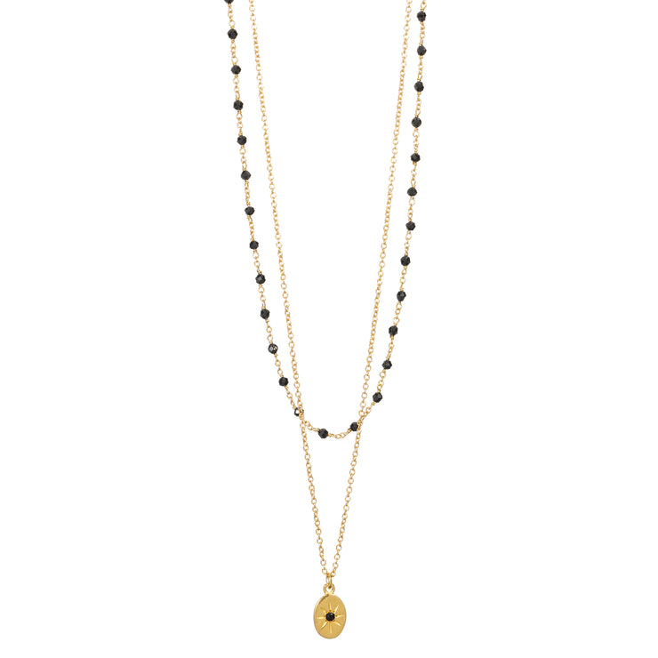 Collier Inde Double