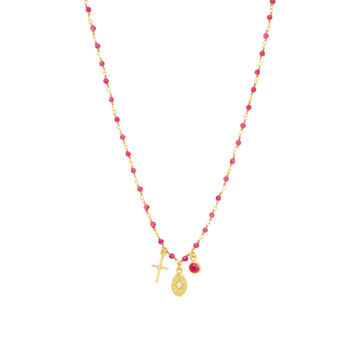 Collier Inde 3 charms