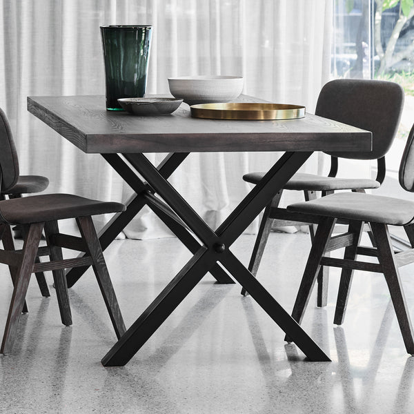 Montana X-Leg Dining Table