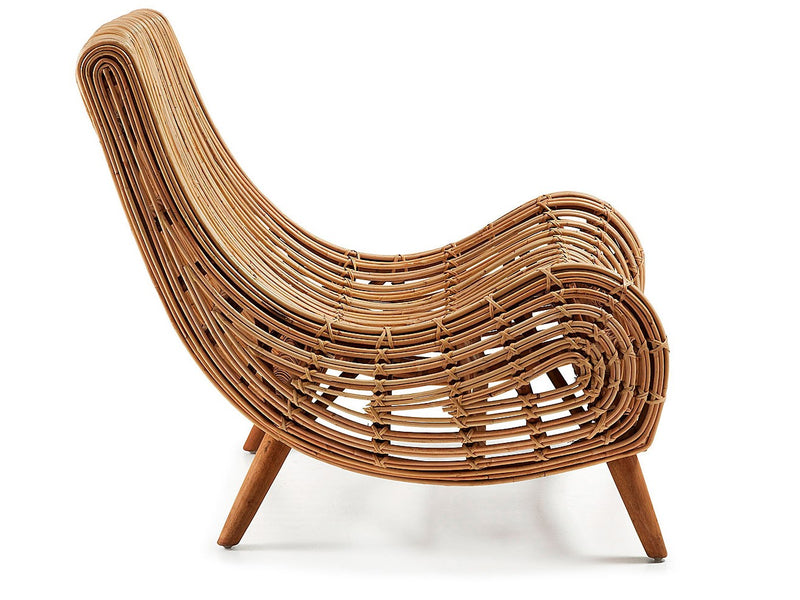 Juliane Rattan Lounge Chair