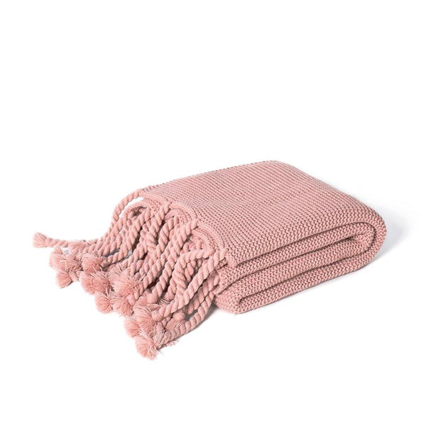 Miranda Throw in Rose