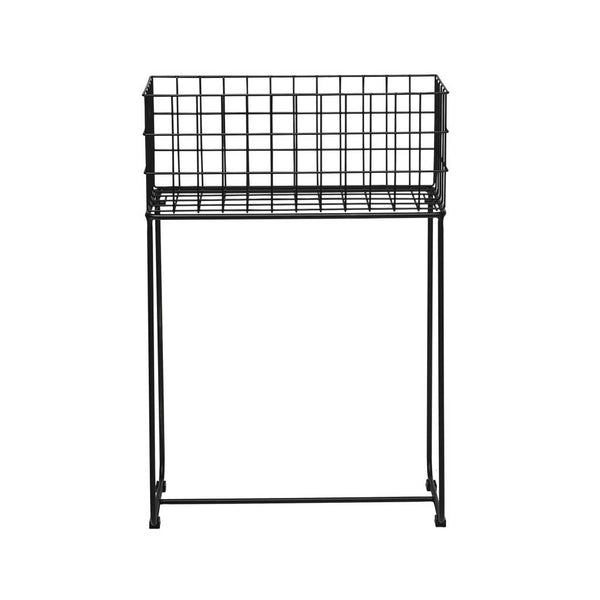 Deer Storage Basket, Black