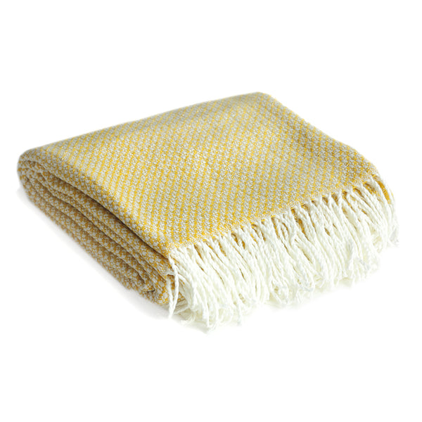 Ezra Throw in Yellow