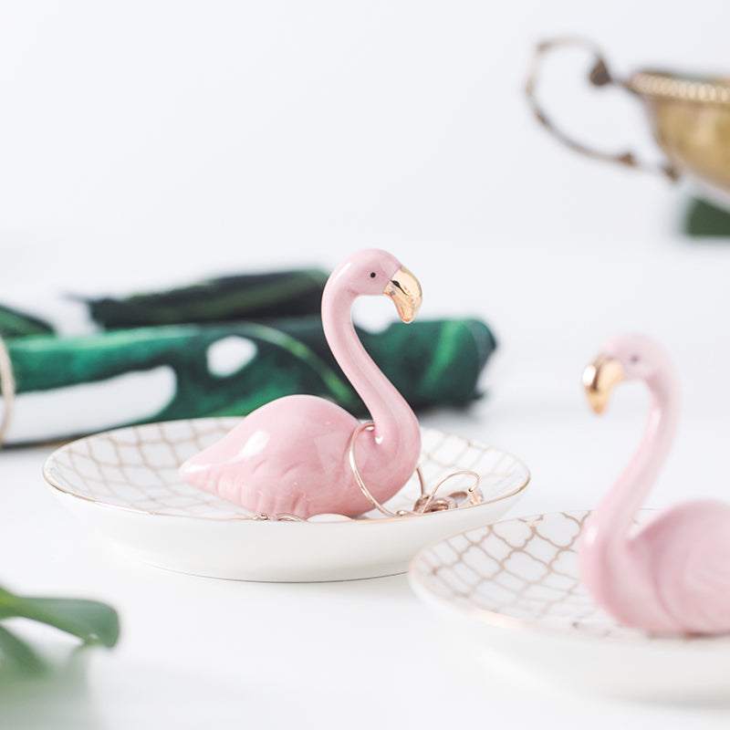 Flamingo Trinket Tray
