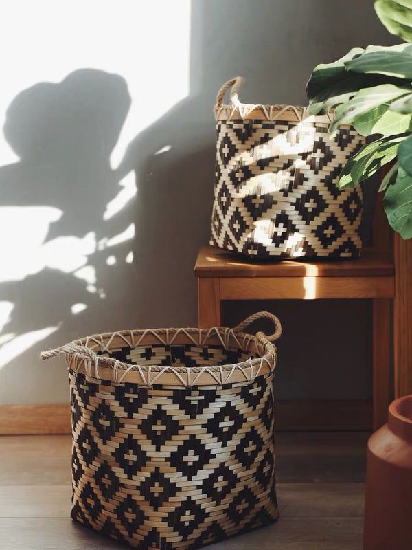 Jarima patterned Jute Baskets