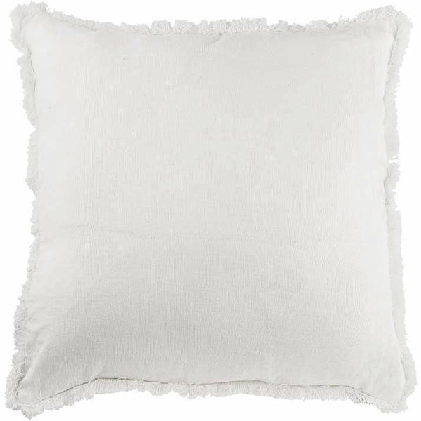 Luca Boho Cushion in White