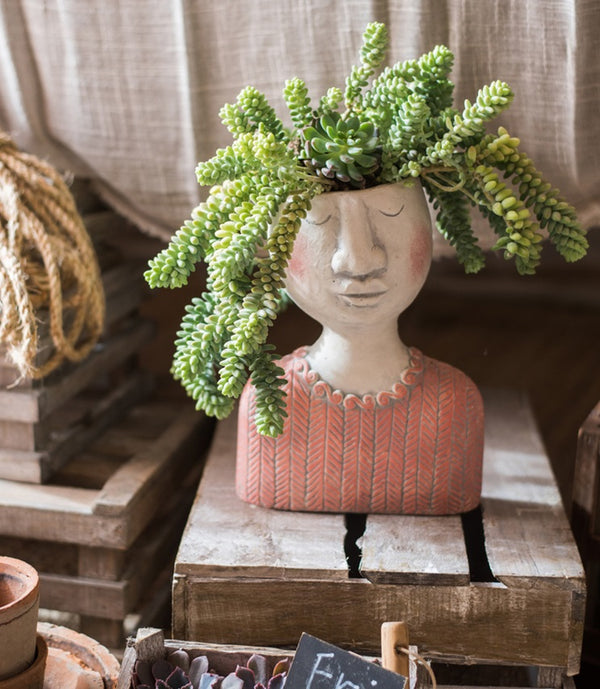 Family Planter - Woman