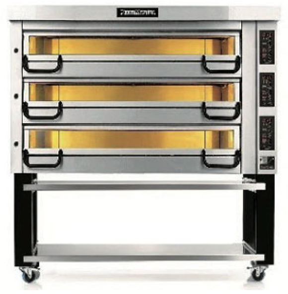 Pizzamaster ovn 3 x 8
