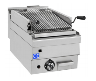 Gas Lavasten Grill 400 x 600 mm