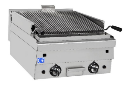 Gas Lavasten Grill 600 x 600 mm