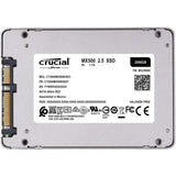 crucial mx500 2tb ssd CT2000MX500SSD1 back