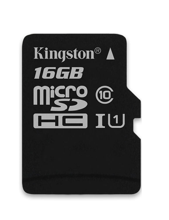 kingston canvas select 16g microsd sdsc/16gb front