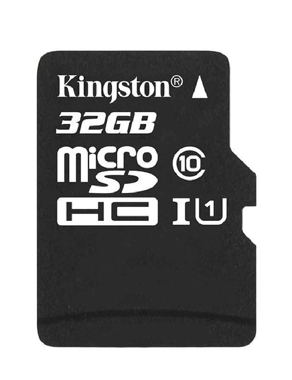 kingston canvas select 32g microsd sdsc/32gb front
