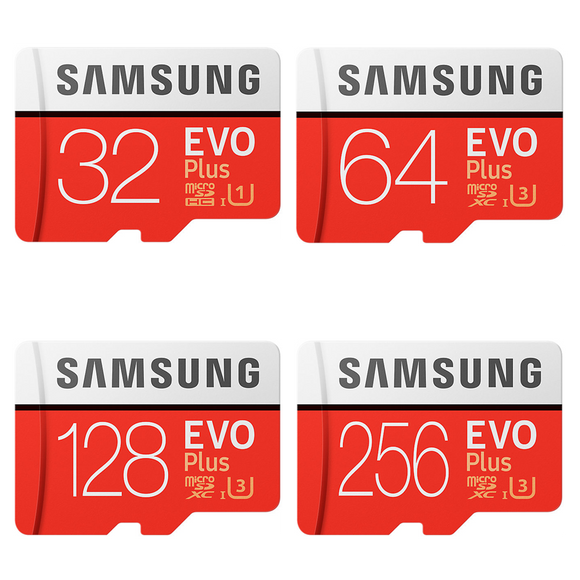 samsung evo plus series gb micro sd front