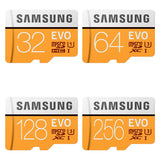 samsung evo series gb micro sd memory card front