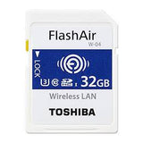 toshiba flashair w-04 32gb wireless sd card THN-NW04W0320E6 front