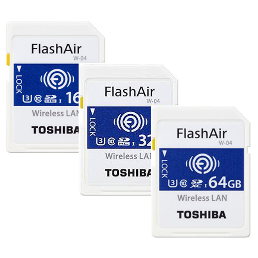 Toshiba FlashAir W-04 Class 10 Wireless SD UHS-I Card series GB