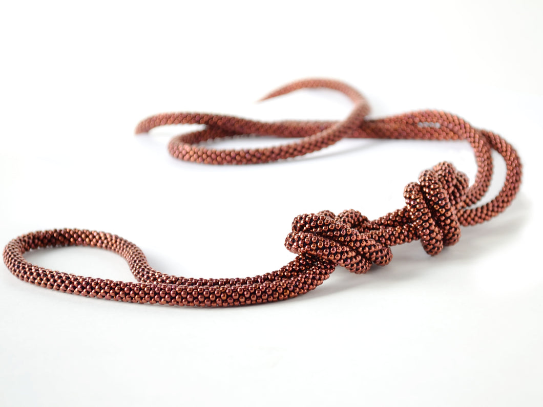 Placida Necklace Copper