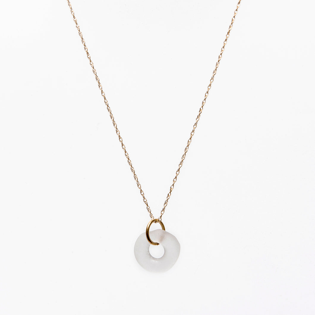 Mini Simple Necklace Clear