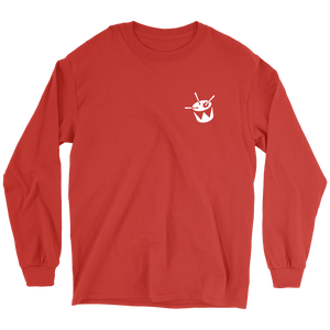 triple j Drum Logo Long Sleeve (Red)
