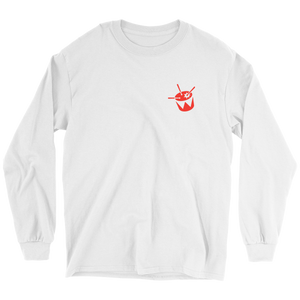 triple j Drum Logo Long Sleeve (White)