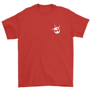 triple j Drum Tee (Red)
