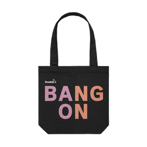 Bang On Black Tote
