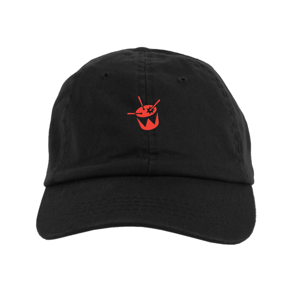 triple j Embroidered Drum Logo Cap (Black)