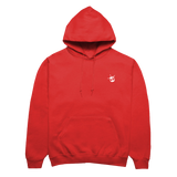triple j Drum Logo Hoodie (Red)