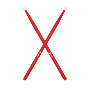triple j Logo Drumsticks (Red)
