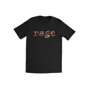 Rage Logo Kid's Tee (Black)