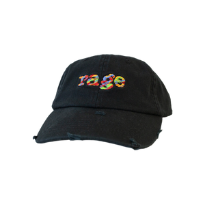 Rage Vintage Distressed Hat (Black)