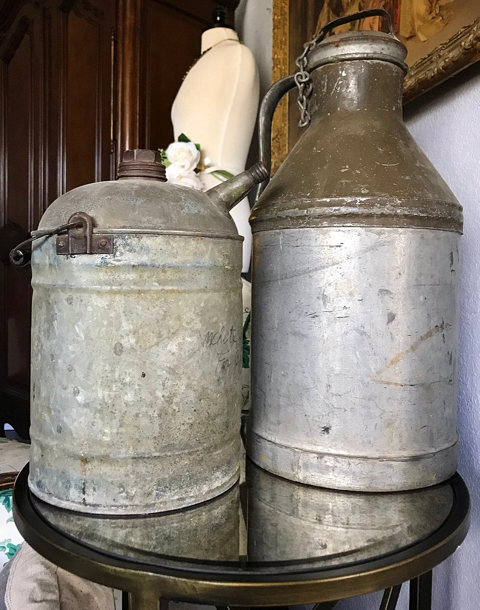 1950s Vintage Canisters - $30 (tall) $20 (short) $40 for BOTH!