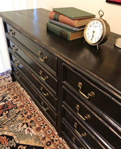 (SOLD) Gorgeous Vintage Rustic Pottery Barn inpired Buffet/Dresser/Media/Entryway in Excellent Condition. Perfect BEAUTY indeed!! 71X31X18