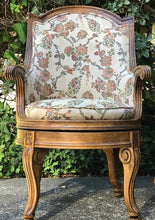 Load image into Gallery viewer, (SOLD) Stunning Set of Vintage Victorian Accent/Decorative Swivel Chairs with Gorgeous Design and Details!! BEAUTIES!!