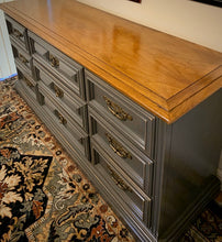 Load image into Gallery viewer, (SOLD) Dresser/Media/Entryway/Buffet/Credenza with Beautful Design and Original Hardware!!