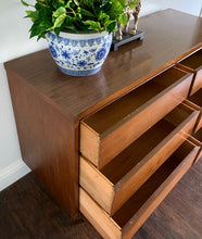 Load image into Gallery viewer, (SOLD) Simply Beautiful Danish Mid Century Modern 6Drawer Dresser/Media/Entryway/Console/Buffet in Great Condition. Perfect Danish MCM for Minimalist and Wood Lover!!!