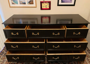 (SOLD) GORGEOUS Restoration Hardware inspired Mid Century Modern Entryway /Dresser/Media/Buffet/Credenza in Superb Condition!!!
