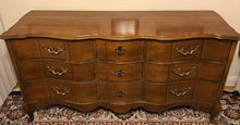 Load image into Gallery viewer, (SOLD) Gorgeous Vintage High-End Bassett French Country Serpentine Bedroom Dresser Set with Beautiful Details and Hardware!!!