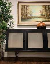 Load image into Gallery viewer, (SOLD) Simply Beautiful Contemporary Style Entryway/Media/Buffet/Sideboard/Credenza in Great Condition. Perfect for Minimalist indeed!!