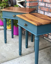 Load image into Gallery viewer, (SOLD) Gorgeous Vintage Nightstand/Side/End Tables in Excellent Condition!! 20W 25H 14D