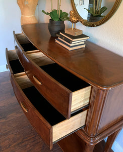 (SOlD) Gorgeous XL Modern Entryway/Coffee-Snack Bar Table/Buffet/Media with ton of Storage and Superb Condition!!