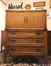 Load image into Gallery viewer, (SOLD) Gorgeous BARGAIN Mid-Century Modern Dresser and Chest of Drawers. Beautifully Designed and Heavy Duty Solid Wood!!