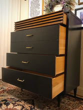 Load image into Gallery viewer, (SOLD) Gorgeous Restoration Hardware inspired Mid-Century Modern Chest of Drawers with Beautiful Design and Solid Wood!!