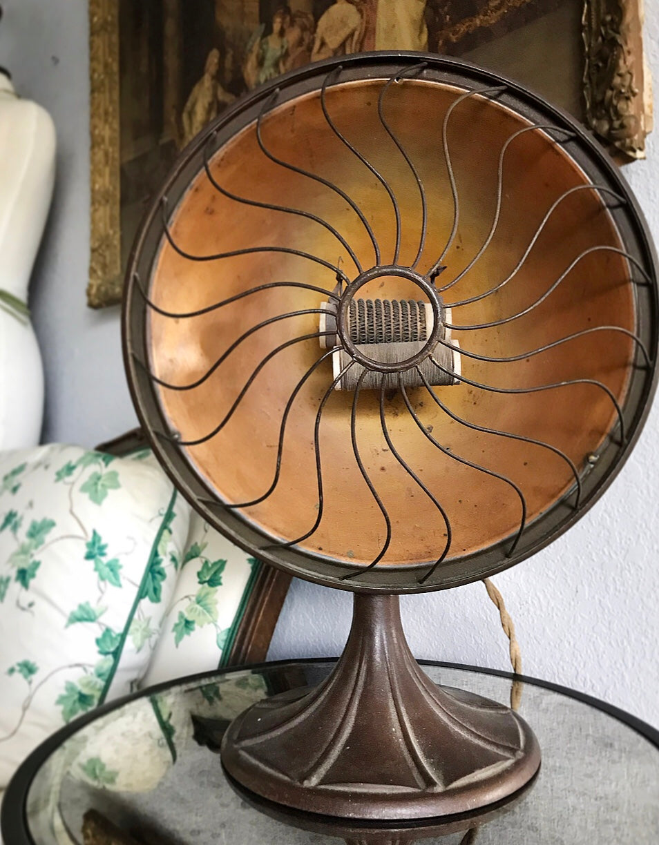 (SOLD) 1920s Decorative Heater (non functional/Decor) $50