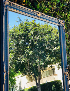 (SOLD) Gorgeous ReDesigned Vintage French County Decorative Wall Mirror with Beautiful Details and Excellent Condition!!